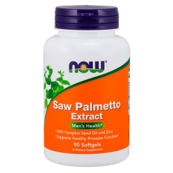 Saw Palmetto 80mg - 90 Softgels [Nowfoods]