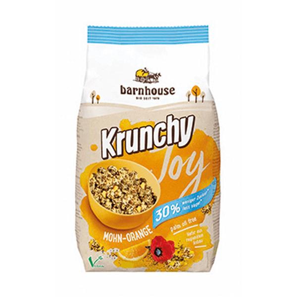 Muesli Krunchy Joy Amapola y Naranja Barnhouse - 375g [Biocop]
