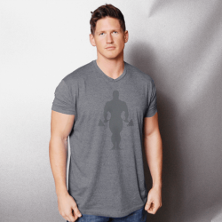 Camiseta Faded Joe Supersoft Tri-Blend [Golds Gym]