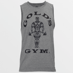 Camiseta sin Mangas Muscle Joe Cutoff [Golds Gym]