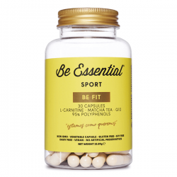 Be Fit (L-Carnitina, Te Matcha, Q10) - 30 Cápsulas [Be Essential]