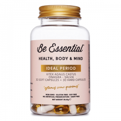 Ideal Period - 30 softgels + 30 cápsulas [Be Essential]