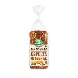 Pan de Molde de Espelta Integral con Avena - 400g [Biocop]