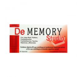 De Memory Studio - 30 Cápsulas [Pharma OTC]