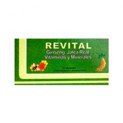 Revital Ginseng - 30 Cápsulas [Pharma OTC]