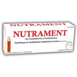 Nutrament - 10ml x 20 Viales [Pharma OTC]