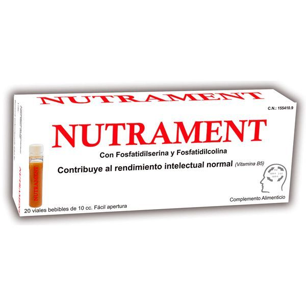 Nutrament - 10ml x 20 Viales [Pharma OTC]