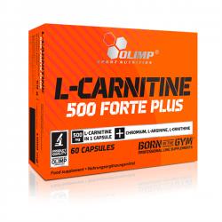 L-Carnitina 500 Forte Plus - 60 cápsulas [Olimp Sport]