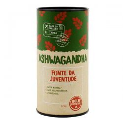 Ashwagandha Orgánica en Polvo - 125g [Gold Nutrition]