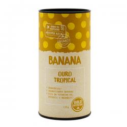 Plátano Orgánico en Polvo - 125g [Gold Nutrition]