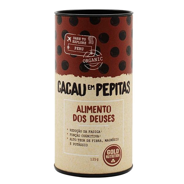 Cacao en Pepitas Orgánico - 125g [Gold Nutrition]