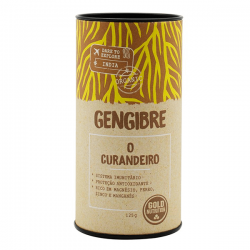 Jengibre Orgánico - 125g [Gold Nutrition]