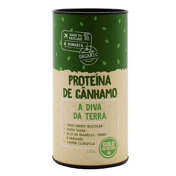 Proteína de Cáñamo - 125g [Gold nutrition]
