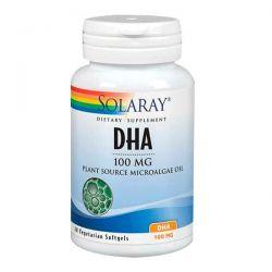DHA 100mg - 30 Softgels Vegetales [Solaray]