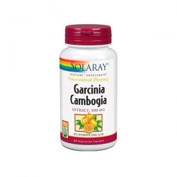 Garcinia Cambogia 500mg - 60 Cápsulas Vegetales [Solaray]