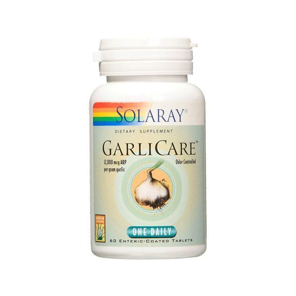 GarliCare 10.000mcg - 60 Tabletas [Solaray]