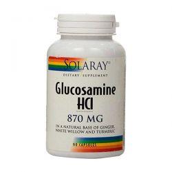Glucosamina HCI 870mg - 90 Cápsulas [Solaray]