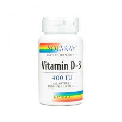 Vitamina D3 400IU - 120 Sofgels [Solaray]
