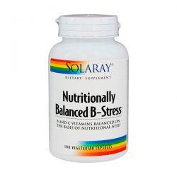 B - Stress Equlibrado - 100 Cápsulas Vegetales [Solaray]