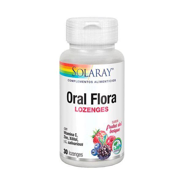 Flora Oral - 30 Pastillas [Solaray]