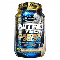 Nitro Tech Casein Gold - 1,13 kg [Muscletech]