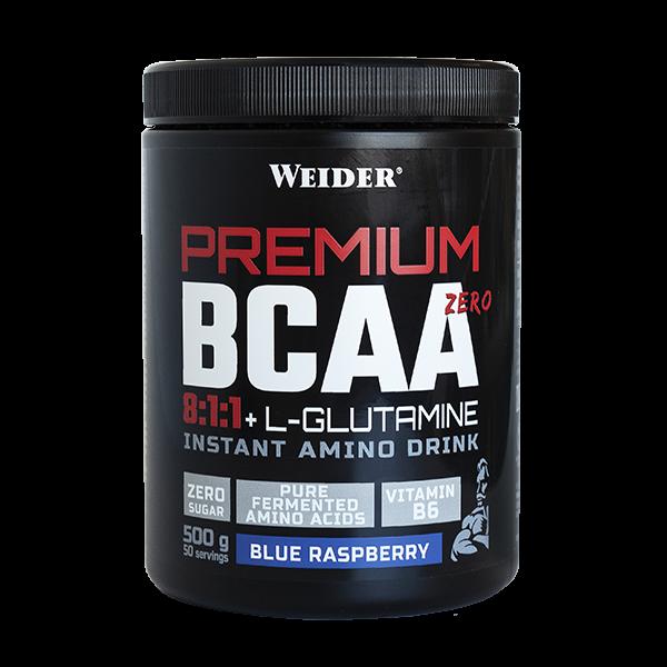 Premium BCAA Zero 8:1:1 + L-Glutamine - 500g [Weider]