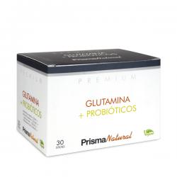 Glutamina + Probioticos - 30 sticks [Prisma Natural]