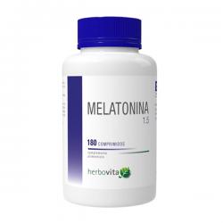 Melatonina - 180 tabletas [Herbovita]