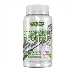 Picolinato de Cromo 200mcg - 100 tabletas [Quamtrax Essential]