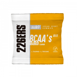 Bcaas sub9 8:1:1 vegan sport gummies - 60g