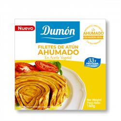 Filetes de Atún Ahumado - 160g [Dumon]