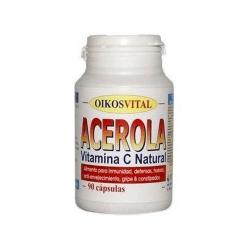 Acerola Vitamina C Natural - 90 cápsulas [OikosVital]