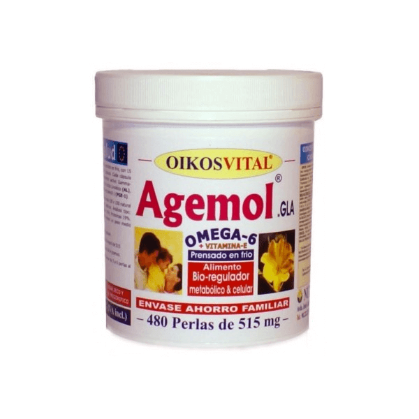 Agemol Omega 6 - 480 softgels