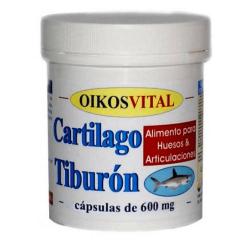 Cartilago de Tiburón 600mg - 90 cápsulas