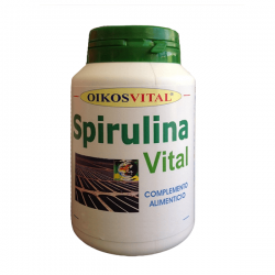 Espirulina Vital 515mg - 180 cápsulas [OikosVital]