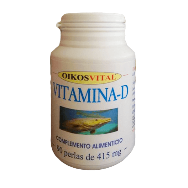 Vitamina D 500mg - 90 softgels [OikosVital]