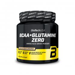 BCAA + Glutamine ZERO - 480g [BiotechUSA]