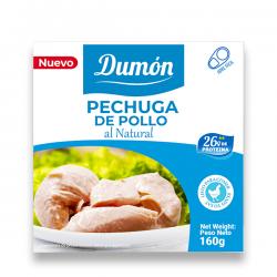 Pechuga de Pollo Al Natural - 160g [Grupo Dumon]