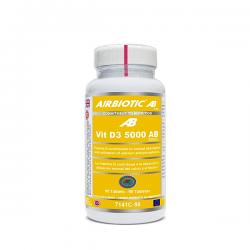 Vit D3 AB 5000IU - 90 cápsulas [Airbiotic AB]