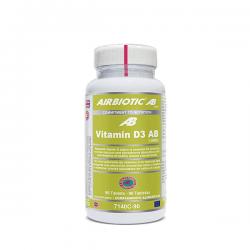 Vitamina D3 AB 1000IU - 90 cápsulas [Airbiotic AB]