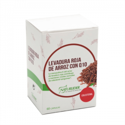 Levadura Roja de Arroz con Q10 - 60 cápsulas [Naturlider]