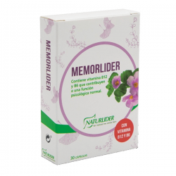 Memorilider - 30 cápsulas [Naturlider]