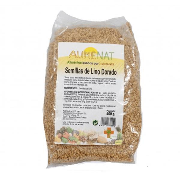 Semillas de Lino Dorado - 500g [Naturlider]