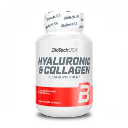 Ácido Hialuronico y Colageno - 30 Cápsulas
