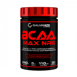 BCAA Max NRG - 240g [Galvanize Nutrition]