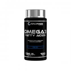 Omega 3 Fatty Acids - 100 cápsulas [Galvanize Nutrition]