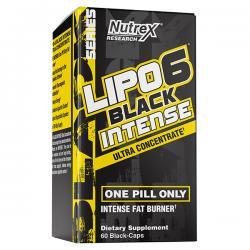 Lipo 6 Black Intense - 60 Cápsulas