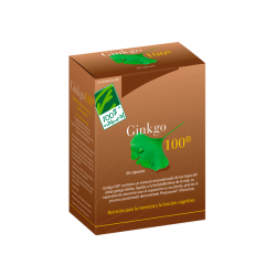Ginkgo 100 - 60 Cápsulas [100%Natural]
