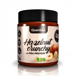 Hazelnut Crunchy with Pea Protein - 250g [Quamtrax]