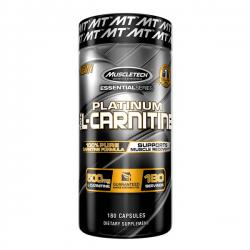 Platinum 100% Carnitina - 180 caps